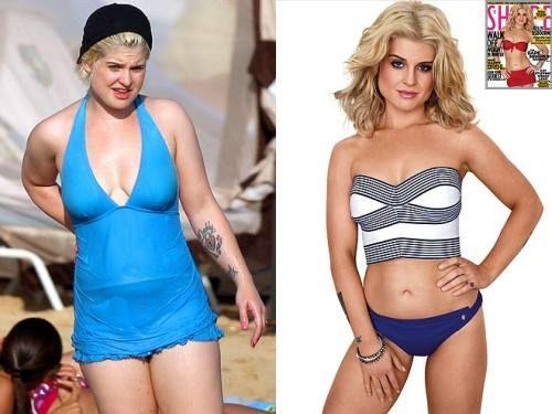 kelly tallafornia weight loss