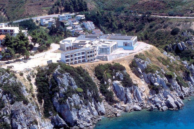Spa - Loutra Agia Paraskevi  #spa #thermal #loutra #halkidiki #kassandra http://giannikos.gr