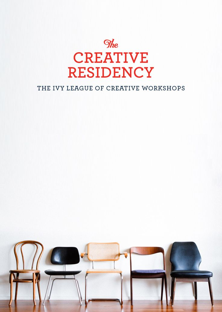 Introducing The Creative Residency: the new creative workshop series that opens doors and takes you and your brand to new heights!