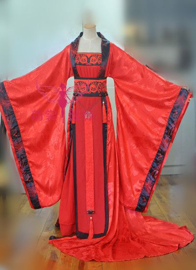 Train femme hanfu tang costume cosplay costume femmes costume dragon cos version blanche