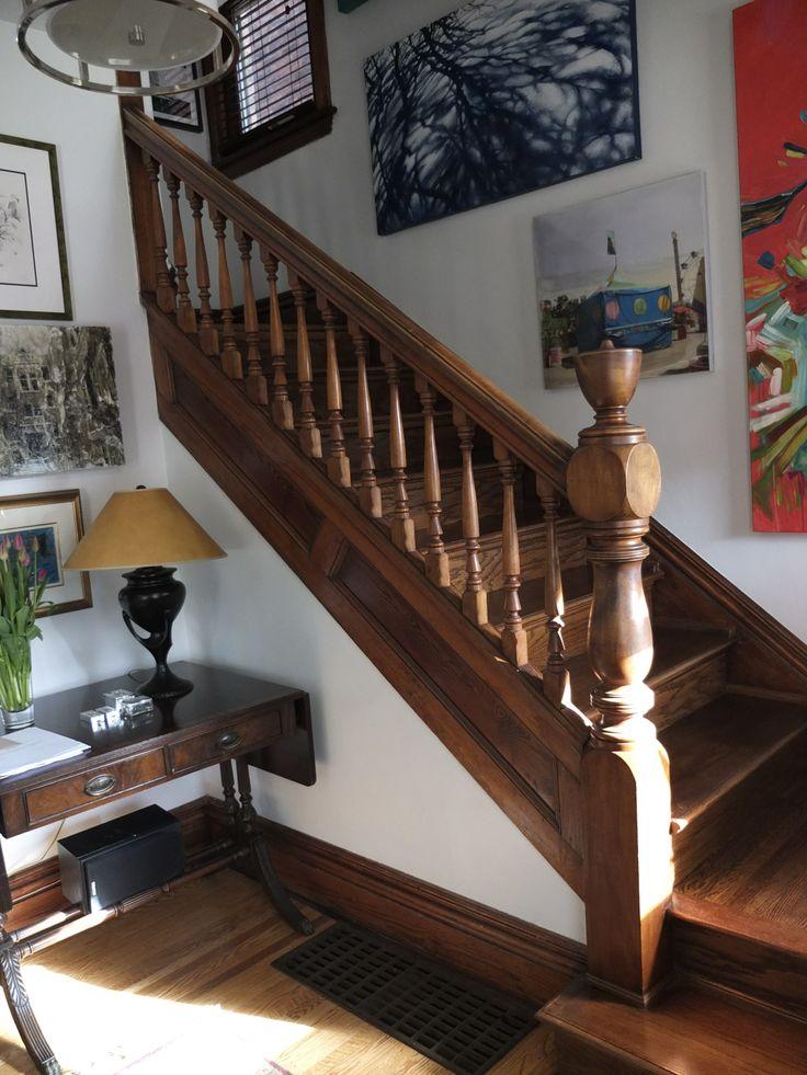 Hallway, 132 Stanley Ave. Hamilton, ON #HamOnt #design #interiordesign #interiors #homes #Hamilton #hallway #staircase #homes #homedecor #decor
