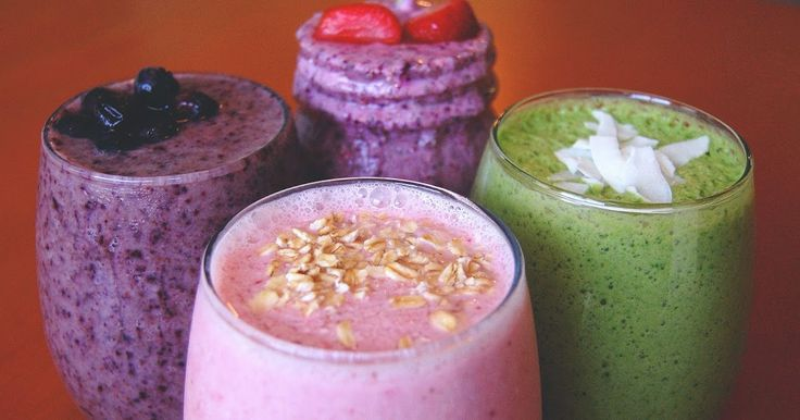Healthy Smoothie Recipes: 4 Smoothies That Shed Pounds Fast!  The strawberry raspberry one sounds the best!