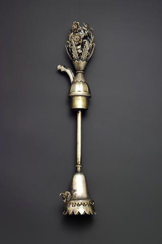 An Ottoman silver Ghalian Section Turkey, probably period of Mahmud II (AH 1223-55/ AD 1808-39)
