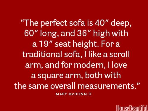 How To Choose a Sofa: 50 Designer Tips
