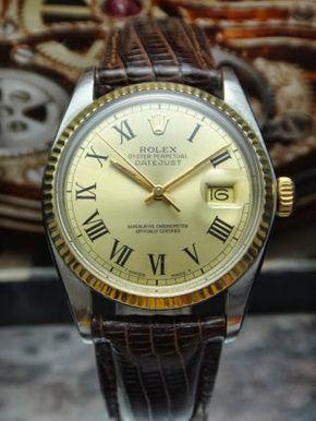 WATCHLIM Online Store, Your Vintage Watch Shop: 598) ROLEX VINTAGE 16013 1978 OYSTER PERPETUAL DATEJUST MEN WATCH ( MYR6000 )