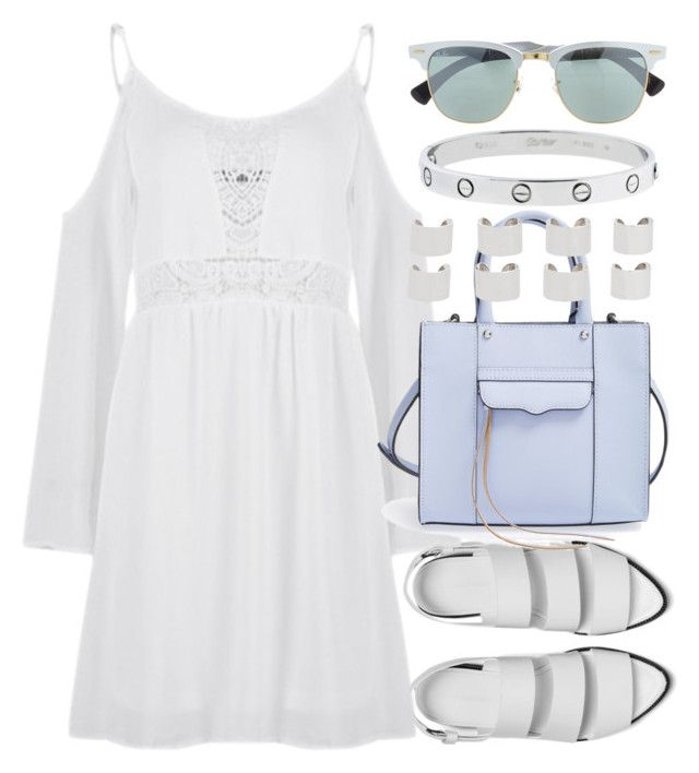 """Untitled #3354"" by plainly-marie ❤ liked on Polyvore featuring Alexander Wang, Rebecca Minkoff, Maison Margiela and Ray-Ban"