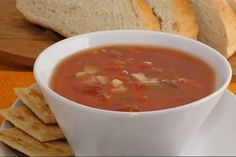 Slow Cooker Manhattan Clam Chowder - DELICIOUS!  www.GetCrocked.com