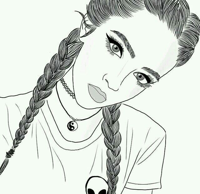 Perfeitas Imagens Desenhos Realistas De Meninas Tumblr