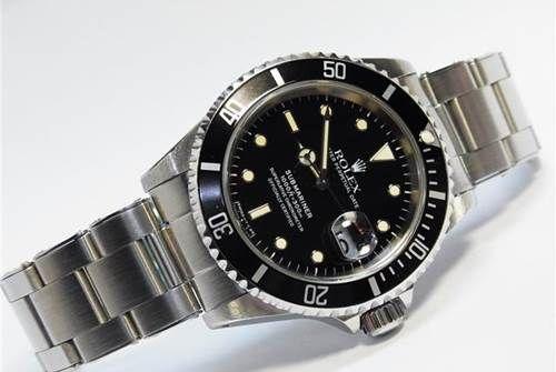 """Rolex 16610 Submariner Tritium Auto """"T"""" Serial"""
