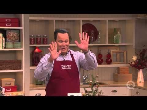 My favorite QVC host! Happy Dance in David's Kitchen - YouTube