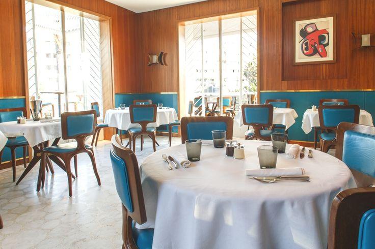 Дизайн ресторана Villa Zevaco Restaurant в Марокко