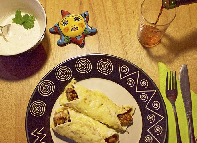 Mexicaanse Burrito
