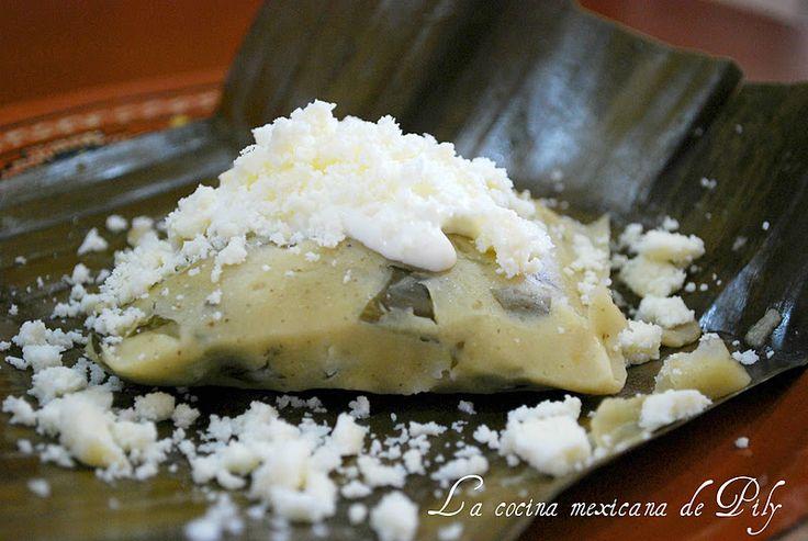 Tamales de acelga | La Cocina Mexicana de Pily