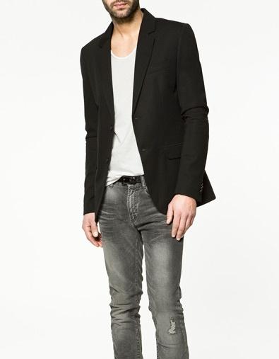 Plush Blazer - Zara