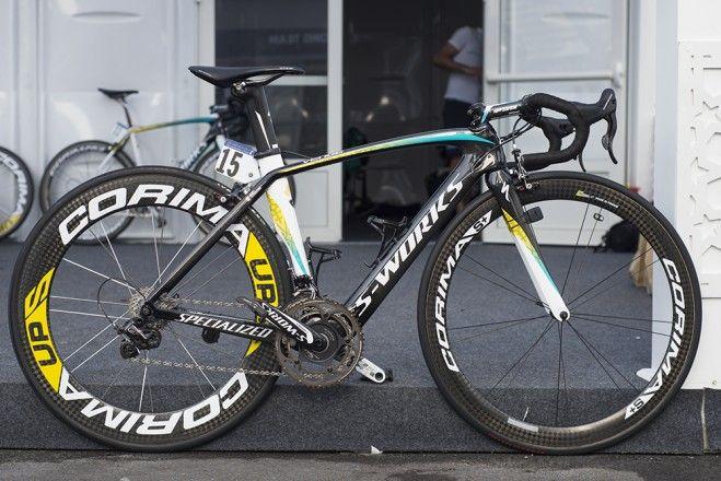 Pro Bike Gallery: Andrea Guardini's 49cm Specialized Venge - VeloNews.com