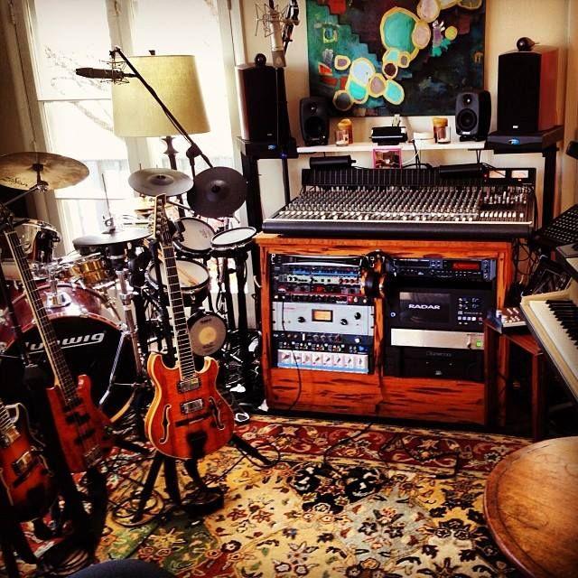 Trey Anastasio's Rubber Jungle Studios (via Trey's Instagram)