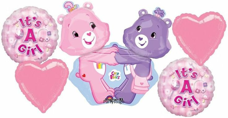 Baby Shower Themes Care Bears ~ Care bears baby shower balloons bouquet supplies