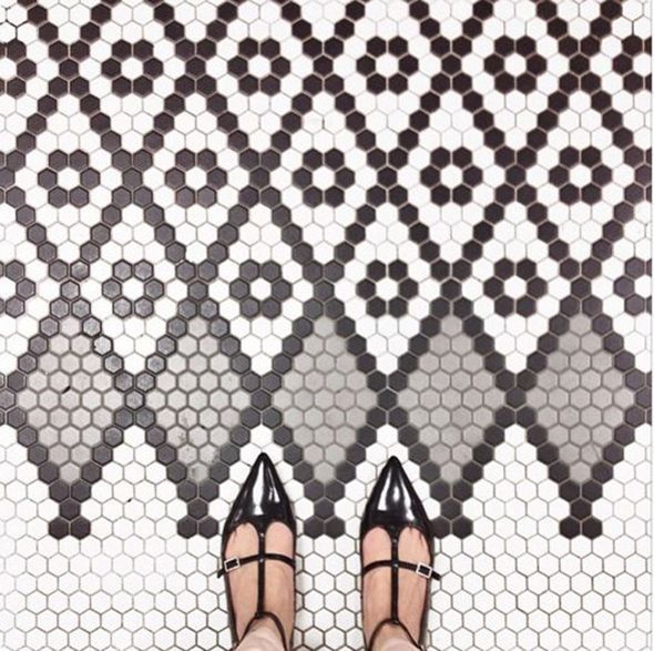 I Have This Thing With Floors (the Hex Tile Chapter) (via Bloglovin.com )