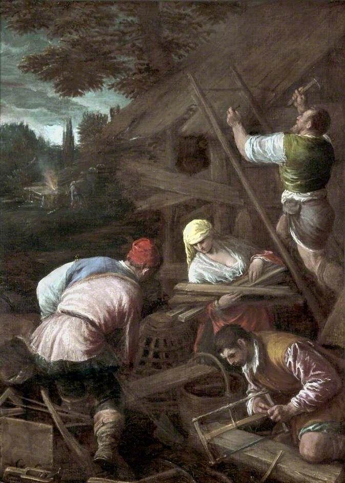 Η προετοιμασία του Νώε (1580)