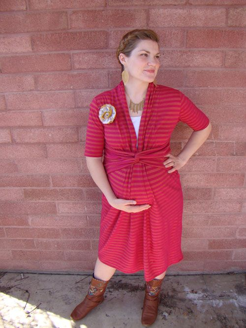The Turn About the Room dress, with Miriam of Mad Mim