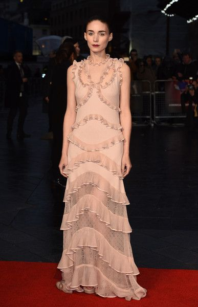 Rooney Mara in Alexander McQueen Spring 2016 - London Film Festival 'Carol' - American Express Gala - October 14, 2015