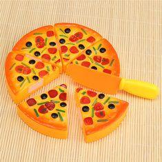 #Banggood Дети Дети ABS пластик Пицца Ломтики Начинка Моделирование кухни Play еды игрушки (1127869) #SuperDeals