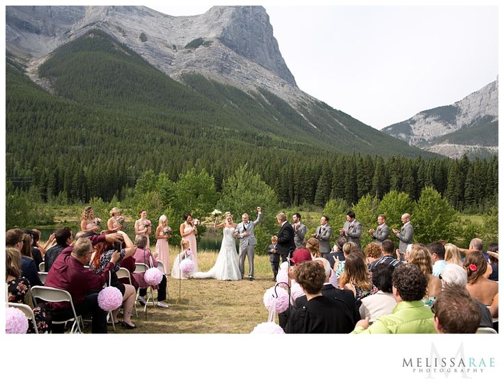 Quarry Park, Canmore, mountain wedding ceremony