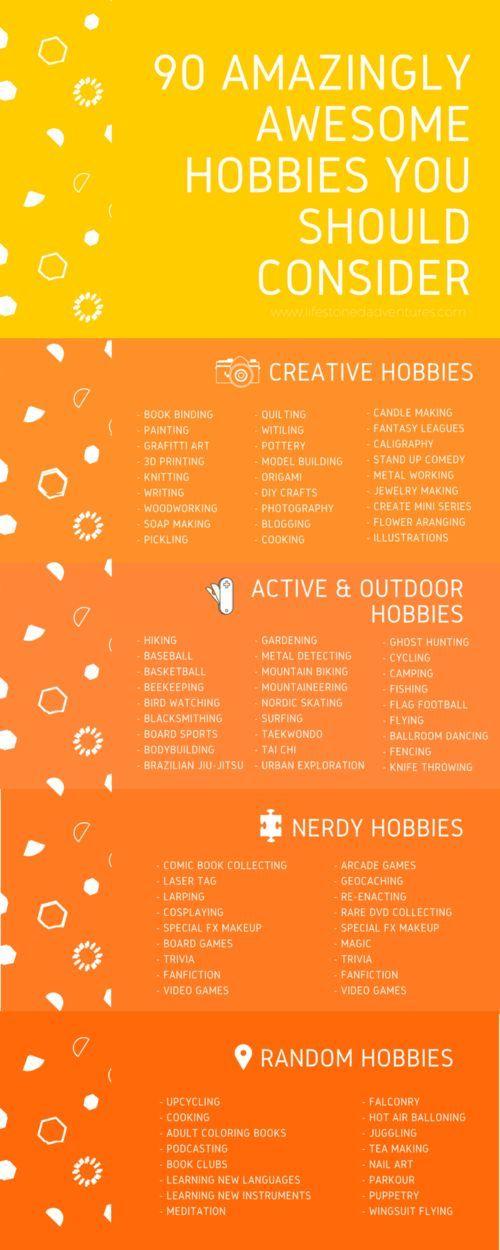 Leitfaden zum Überleben nach dem Abschluss – Eine Liste der Hobbys … – Sonstiges