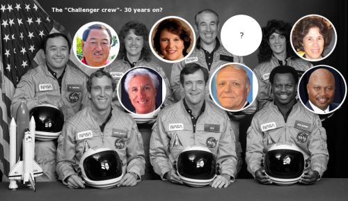 Theory...Are the crew members of 1986 Space Shuttle Challenger still alive? Challenger's 7 crew members:  Francis Richard Scobee, Commander, Michael J. Smith, Pilot, Ronald McNair, Mission Specialist, Ellison Onizuka, Mission Specialist, Judith Resnik, Mission Specialist, Greg Jarvis, Payload Specialist Christa McAuliffe, Payload Specialist. But wait! What if I were to tell you that most, if not all, of Challenger's 7 crew members are still alive and thriving contrary to what we've been…
