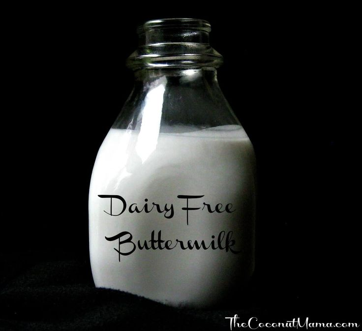 """Need a healthy dairy free alternative to buttermilk? Coconut milk is the healthiest dairy free milk substitute you can use. It is rich in healthy saturated fats and boosts the immune system. You can use homemade or canned coconut milk to make this dairy free """"buttermilk"""". The acid from the vinegar or lemon juice reacts …"""