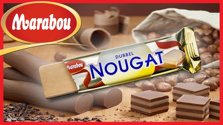 Marabou Dubbel Nougat. This rich, creamy double layered nut and almond praline bar is to die for, and once you try it, you will be hooked! Marabou Chocolate began making their famous products in Sunderland, Sweden in 1919.