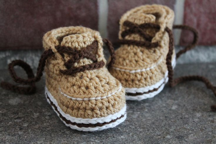 Crochet Pattern for Baby Boys Boots Forrester Boot by Inventorium, $6.40