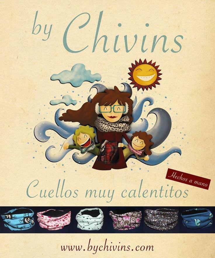 """Ilustración """"Promo de lanzamiento cuellos"""" para By Chivins."""