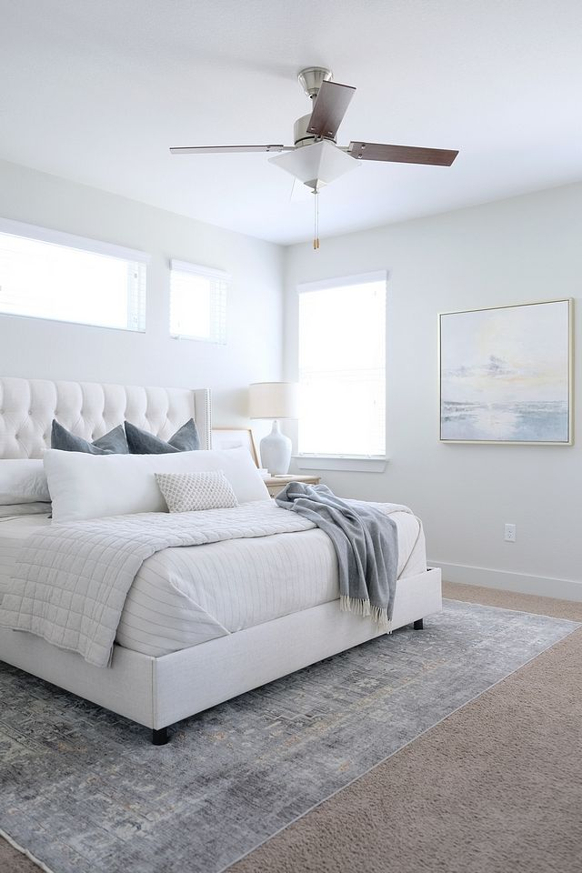 lovely light gray bedroom paint colors | Silver Drop by Behr Grey Bedroom Paint Color Silver Drop ...