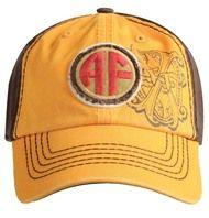 Arturo Fuente AF Opus X Logo Baseball Hat - Gold and Brown