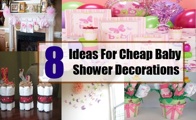 8 Great Ideas For Cheap Baby Shower Decorations