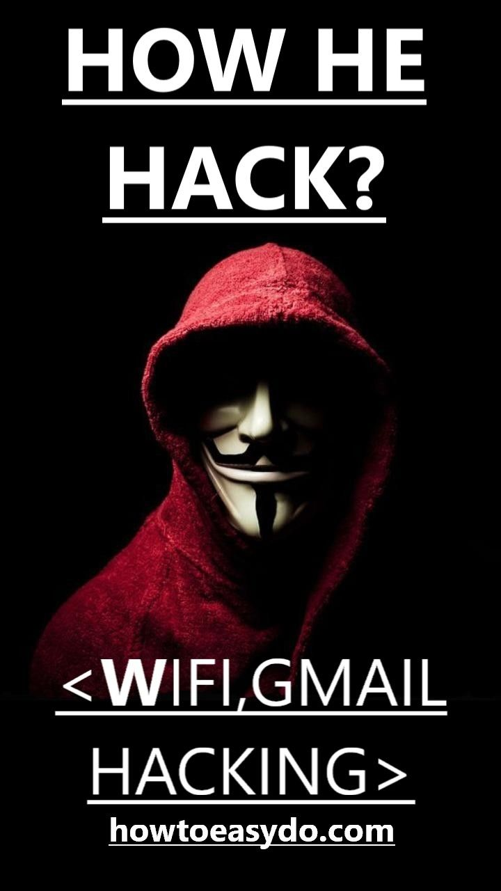 How To Hack Any Password (Gmail,database,server) - Howtoeasydo