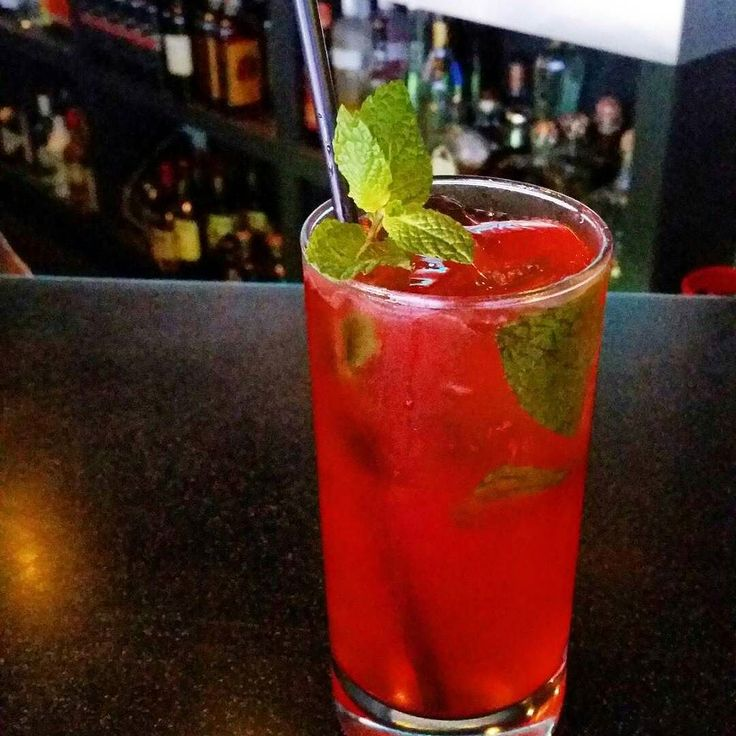 @nocturnalounge -  Try our new drink.. Hit Girl!!! Ciroc red berry kettle one vodka fresh mint strawberry puree lemon lime and cranberry juice! #hawaii #oahu #honolulu #karaoke #happyhour #videogames #alcohol #drinks #hawaiisbestbars # #nocturnalounge by hawaiisbestbars