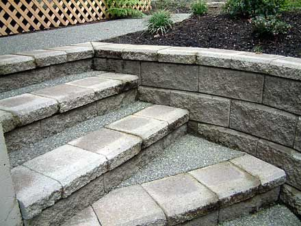 retaining wall design | ... well-designed customized retaining wall system at your residence