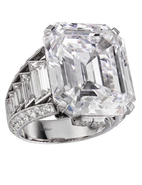 Bague Cartier Magicien en diamants