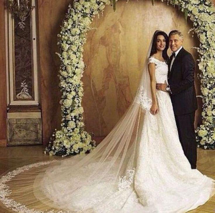 Amal Alamuddin & George Clooney wedding
