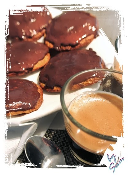 """Biscotti """"Digestive"""" Style al cioccolato Dukan (PP attacco /PV crociera)"""