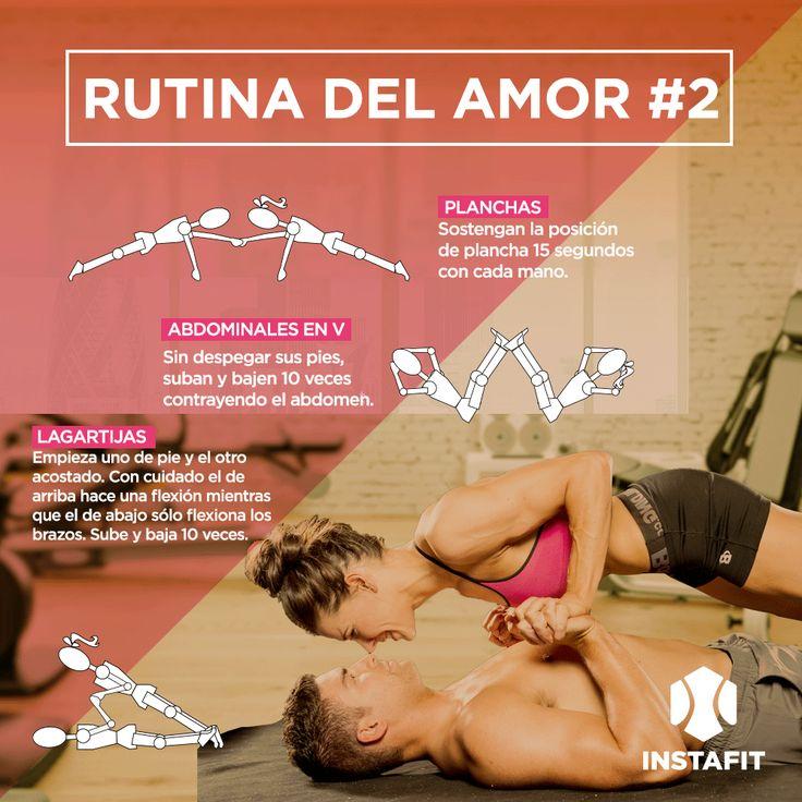 Rutina de ejercicio para hacer en pareja parte 2