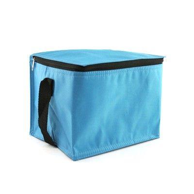Mavi Polyester Kumaş Askılı Soğutucu Çanta