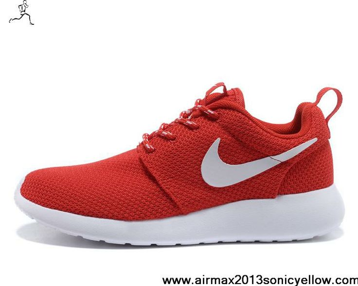 Low Price Challenge Red White Volt Nike Roshe Run 511882-600 Womens Newest  Now