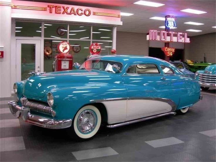 1949 Mercury Coupe What A Blue Beauty Car Automobile Blue