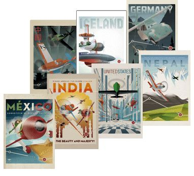 Disney Rewards Members: 7 Printable Plane Posters FREE!