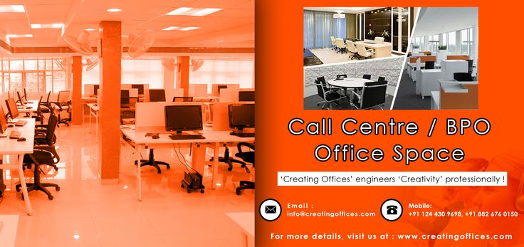 With #CreatingOffices, explore a wide range of custom-made, affordable and fully functional call centre office space solutions for both domestic & international BPO.. Feel free to contact us at +918826760150 for more details.!!