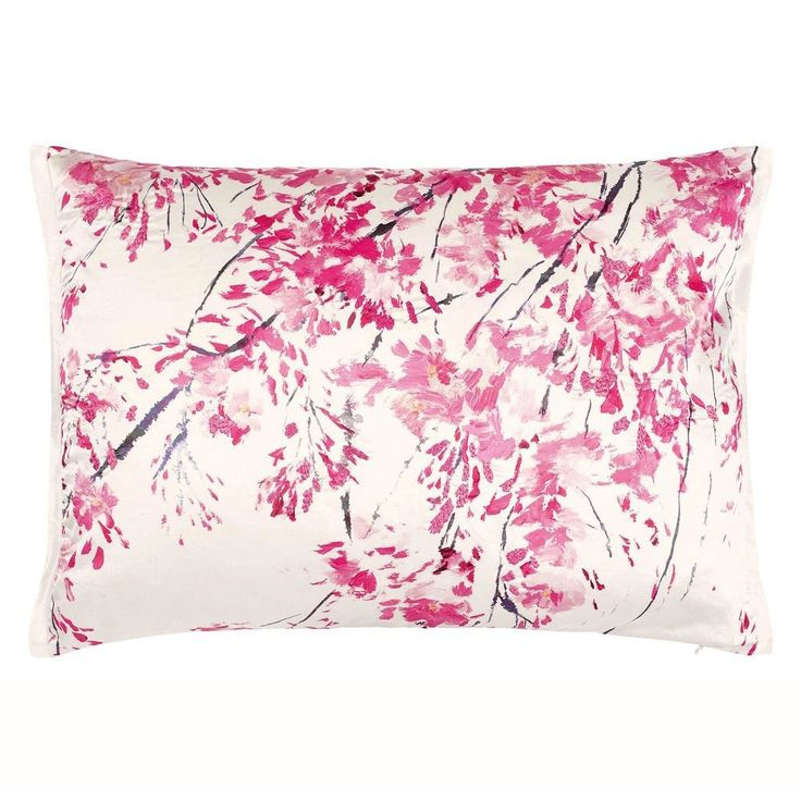 Designer Guild Plum Blossom Fuchsia Cushion