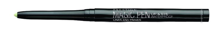 Prestige Cosmetics Magic Pen, Translucent, .01 Ounce. All-in-one: Lip, Eyes and Brow Primer & liner in a retractible pencil with sharpener included. Eye primer for more vibrant, crease-proof, waterproof, smudge-proof and transfer-free eyeshadow. Eyeshadow Liner Transformer - magically transform any eyeshadow into a long wearing, water-proof and transfer-free eyeliner. Lip Liner: prevents lipstick feathering and apply all over lips to improve lipstick wear. Brow Liner and Primer - design…